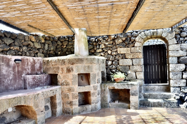 Houses for rent in Pantelleria - Dammuso Mandorlo